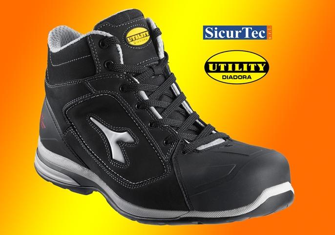Nuove scarpe antinfortunistiche Diadora Utility tra i migliori prodotti per la sicurezza sul lavoro