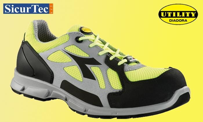 Scopri le nuove scarpe antinfortunistiche D-FLEX LOW BRIGHT di Diadora Utility