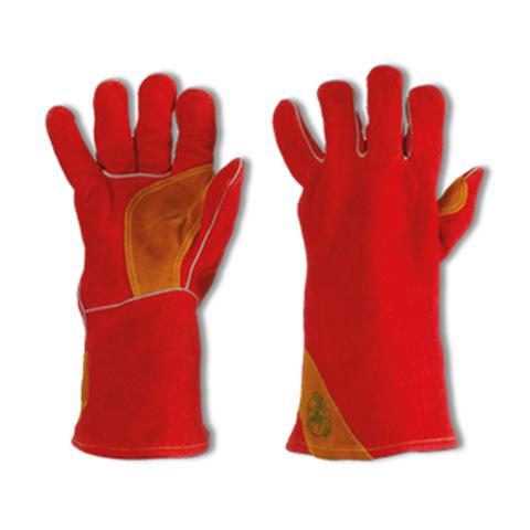 Accessori per la saldatura: Guanti in pelle crosta, Indumenti e Calzature specializzate