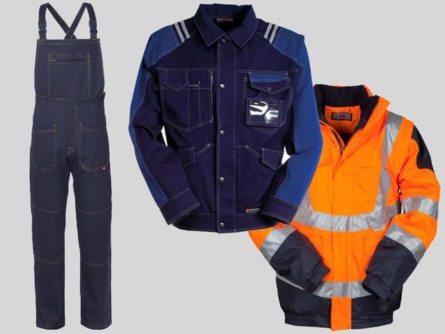 Abbigliamento antinfortunistico da lavoro