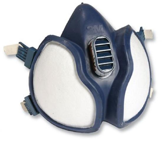 Respiratori 3M™ a semimaschera Serie 4000