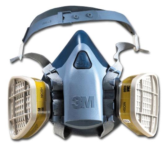 3m respiratore a semimaschera serie 6000
