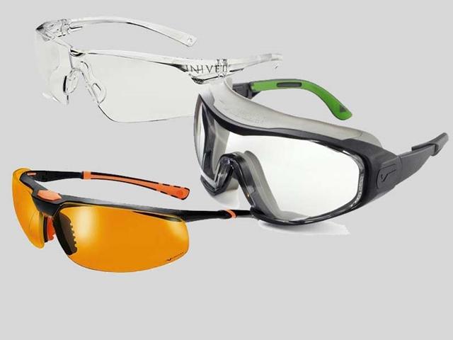 Protezione per gli occhi: occhiali Univet