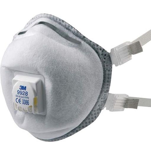 Respiratori 3M™ per fumi di saldatura 9925 e 9928