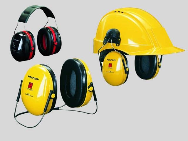 Protezione udito: Cuffie Temporali Peltor, Archetti e Inserti Auricolari 3M